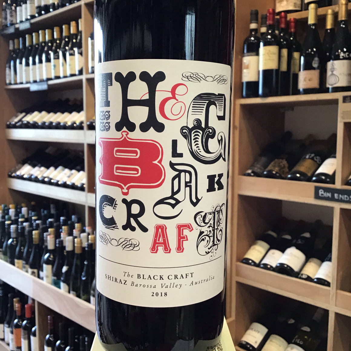 The Black Craft Shiraz 2018
