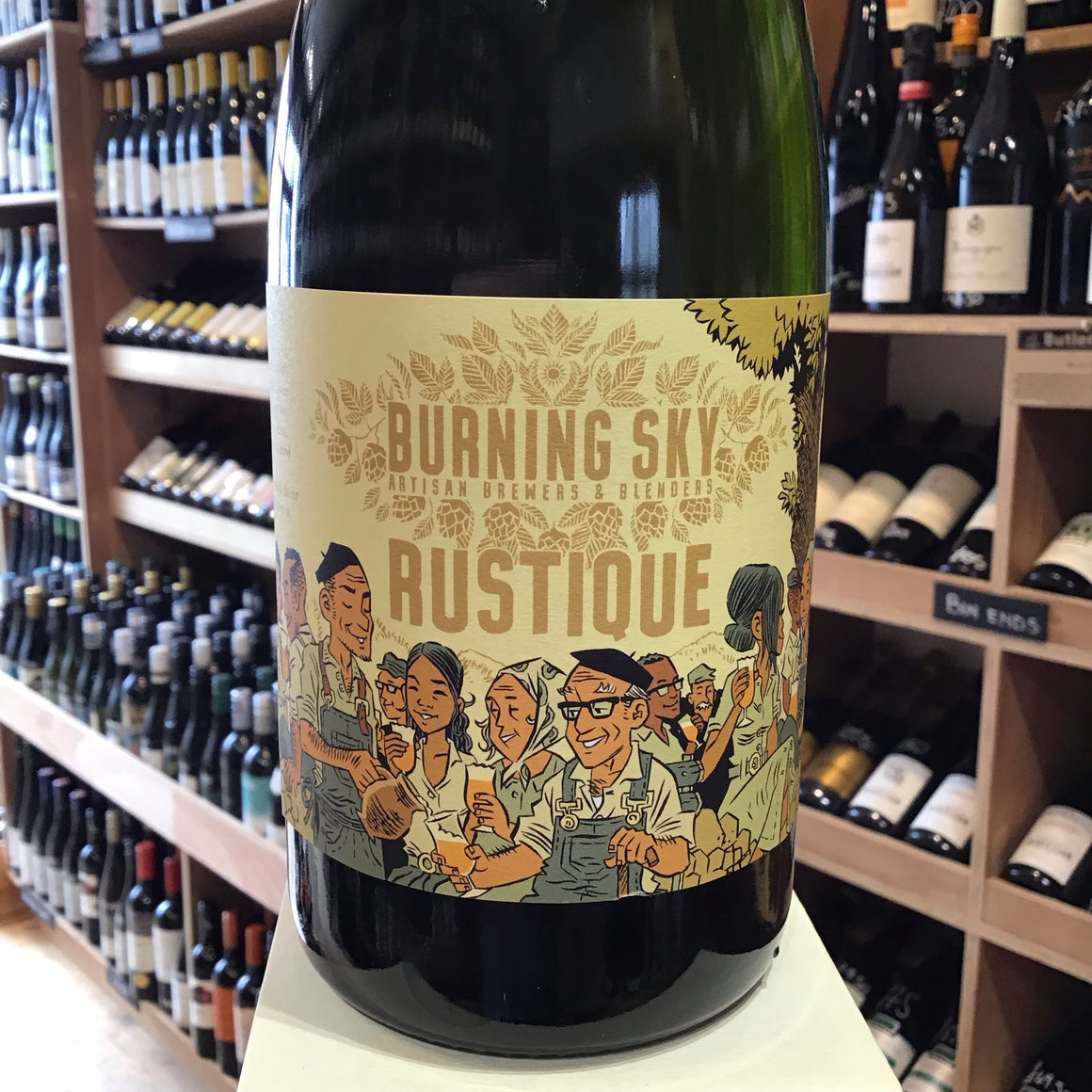 Burning Sky Rustique 75cl 8.5%