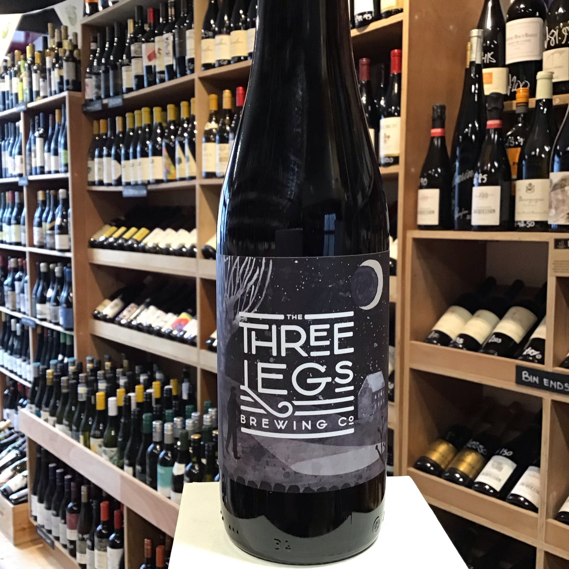 Three Legs Dark 33cl 4% Abv - Butlers Wine Cellar Brighton