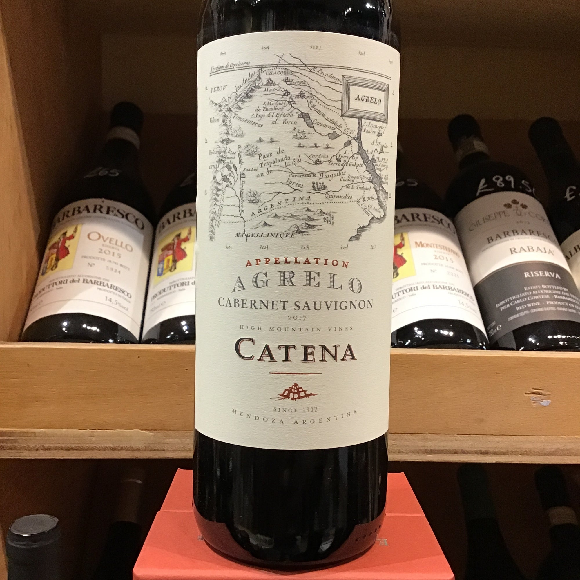 Catena Appellation Agrelo Cabernet Sauvignon 2017
