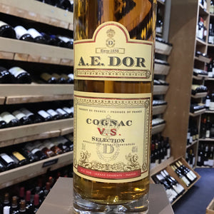 A E Dor Selection VS Cognac 20cl - Butlers Wine Cellar Brighton