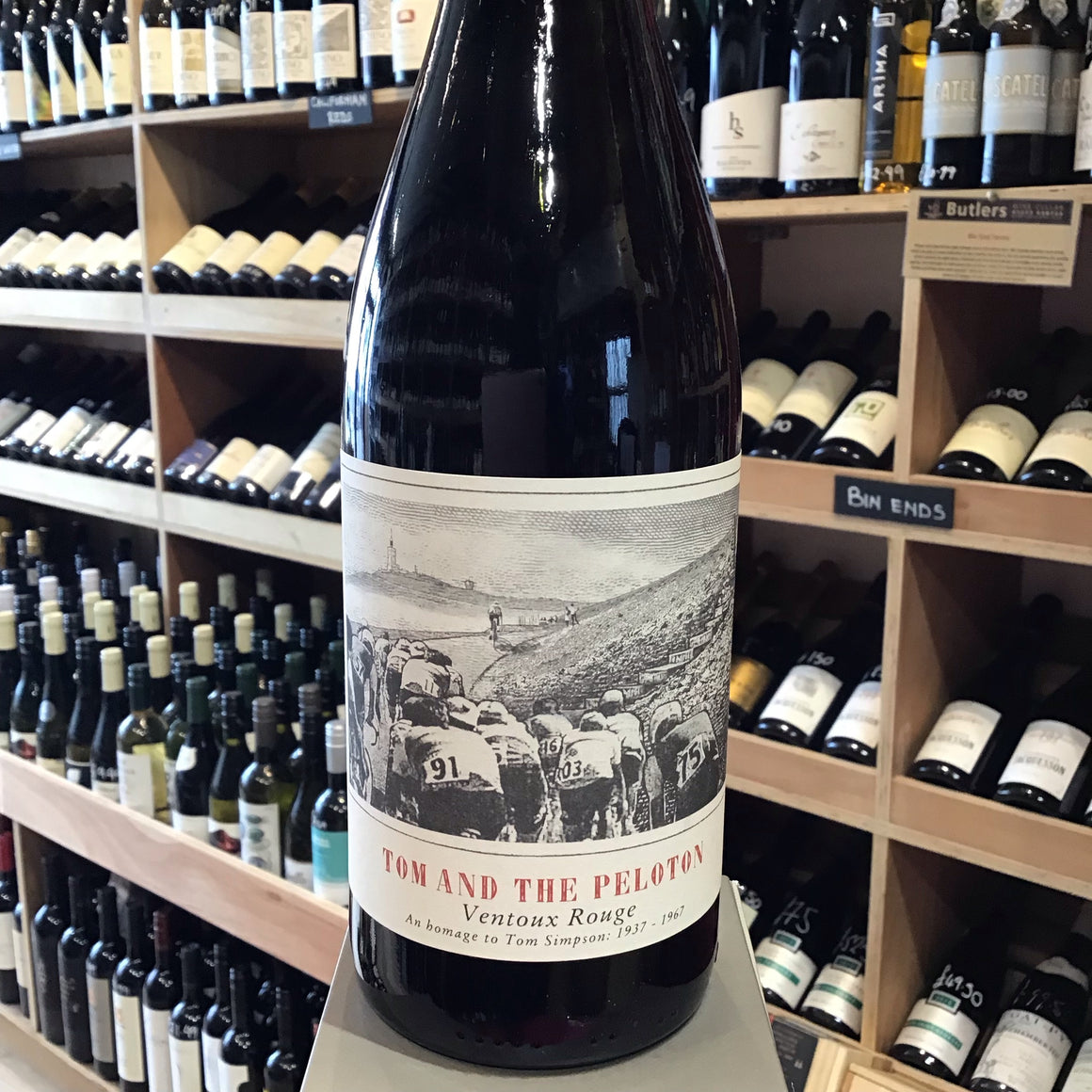 Tom and The Peloton, Cote du Ventoux Rouge 2015 - Butlers Wine Cellar Brighton