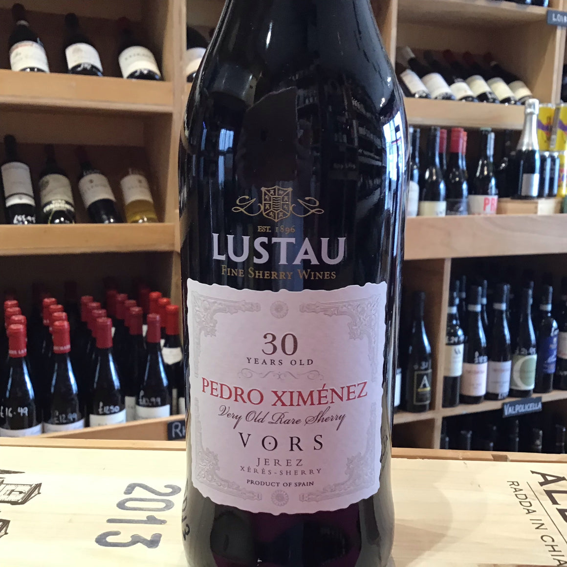 VORS Pedro Ximenez 30 year old 50cl (Lustau) - Butlers Wine Cellar Brighton