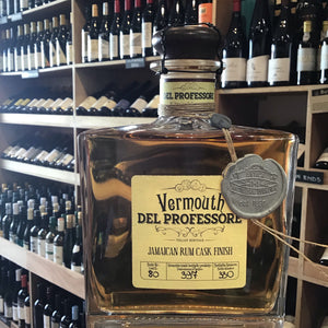Del Professore Vermouth Jamaican Rum Finished 21%  0.50L - Butlers Wine Cellar Brighton