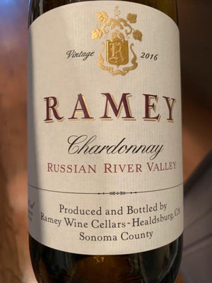 Ramey Russian River Chardonnay 2016 - Butlers Wine Cellar Brighton