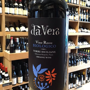 Da Vero Red, IGT Terre Siciliane, Organic, 2017 - Butlers Wine Cellar Brighton