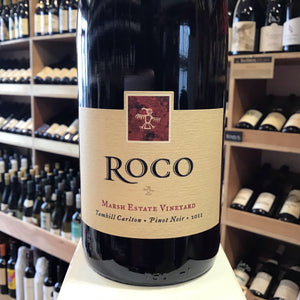 Roco Yamhill Carlton Marsh Estate Vineyard Oregon Pinot Noir 2011