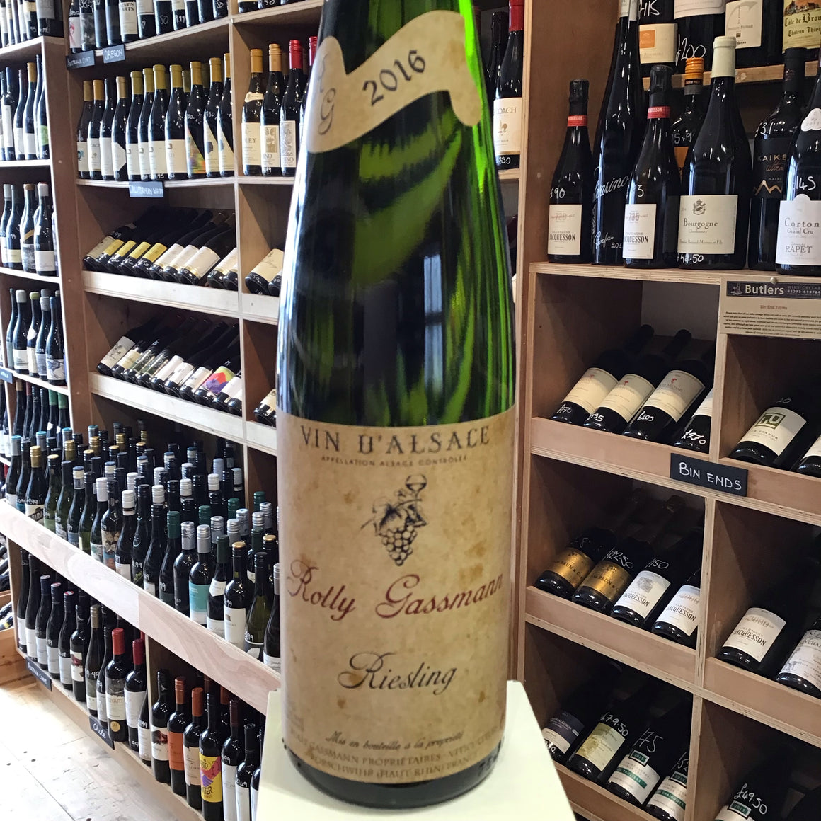 Domaine Rolly Gassmann Riesling 2016 - Butlers Wine Cellar Brighton
