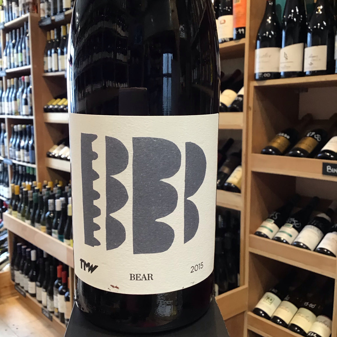 Tim Martin Wines, 'Bear' Tinta Barocca 2015 - Butlers Wine Cellar Brighton