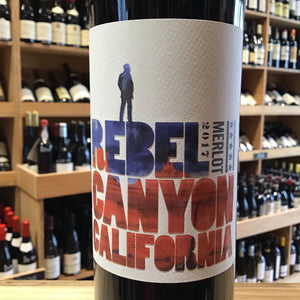 Rebel Canyon, Merlot 2017 - Butlers Wine Cellar Brighton
