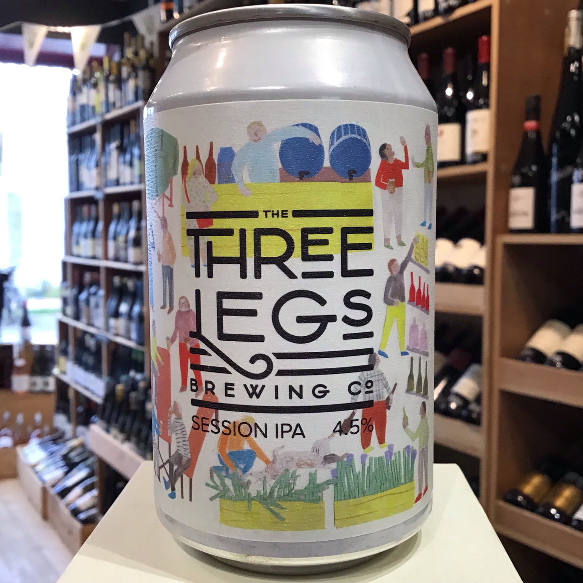 Three Legs Session IPA 33cl 4.5% Abv - Butlers Wine Cellar Brighton