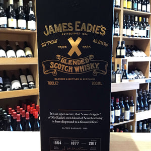 James Eadie's Trade Mark X  First Edition Whisky 70cl - Butlers Wine Cellar Brighton