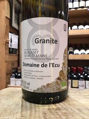 Muscadet Granite, Domaine de L'Ecu 2015 - Butlers Wine Cellar Brighton
