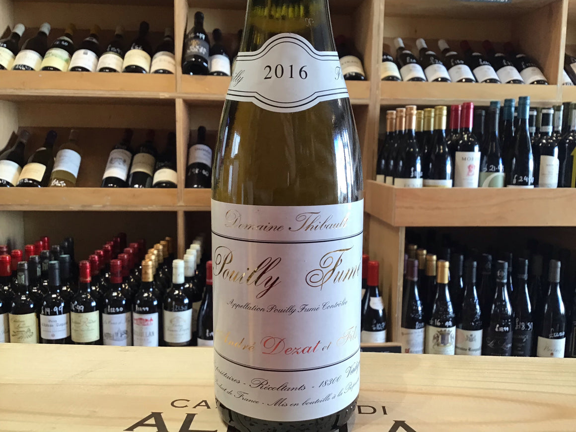 Pouilly Fume, Domaine Thibault 2016 Half bottle