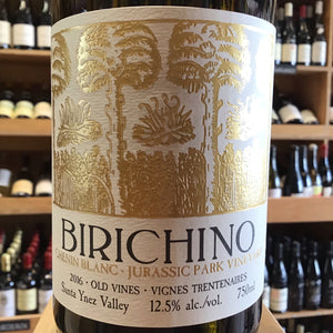 Birichino Jurassic Park Vineyard, Santa Ynez Valley, Chenin Blanc 2016 - Butlers Wine Cellar Brighton