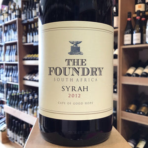 The Foundry Syrah 2012 - Butlers Wine Cellar Brighton