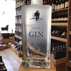 Silverback Old Tom Gin, 70cl, 43% ABV - Butlers Wine Cellar Brighton