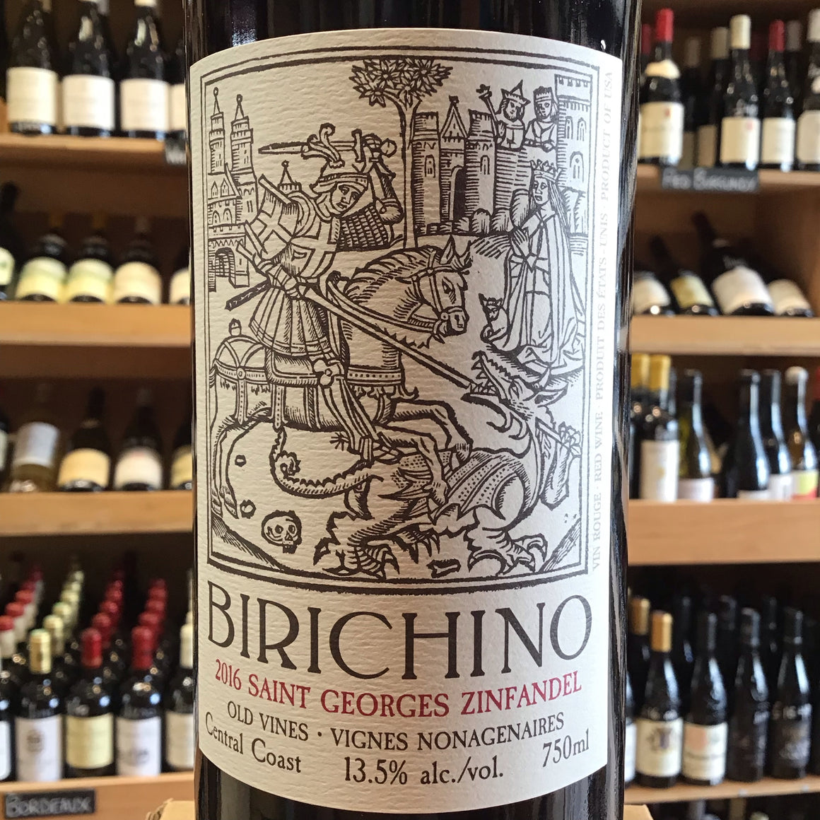 Birichino St.Georges Zinfandel 2016 - Butlers Wine Cellar Brighton