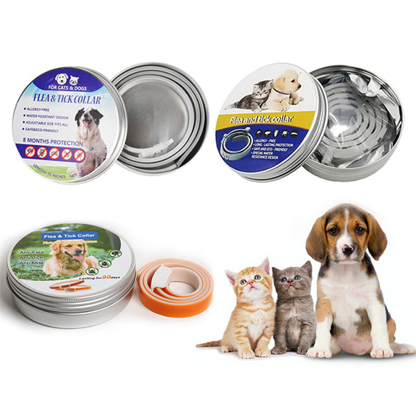 Pet Flea and Tick Collar for Dogs