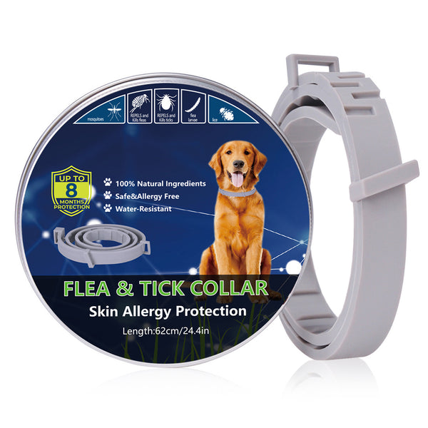 Pet Natural Oils Flea and Tick Collar for Dogs 24.5 inches