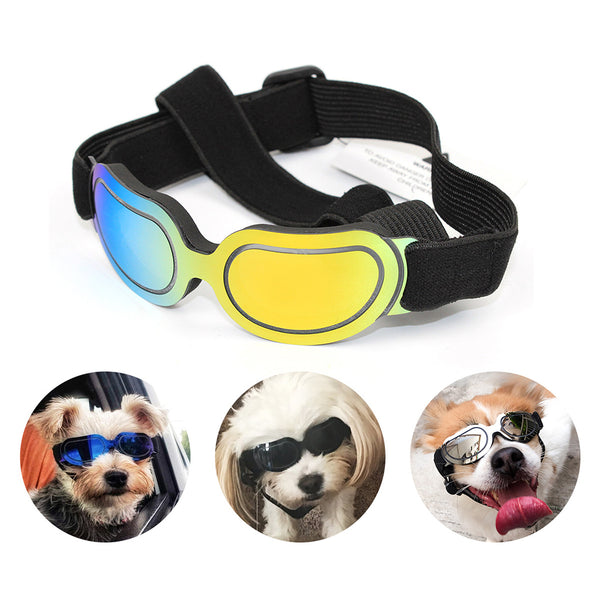 Pet Goggles Small Dogs Cats Eyewear UV Protection Sunglasses
