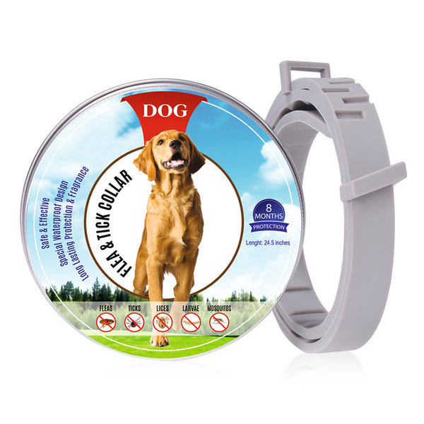 Pet Natural Oils Flea and Tick Collar for Dogs