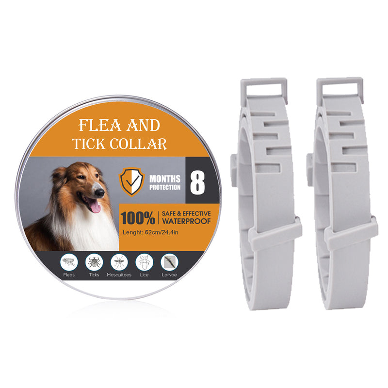 Pets Natural Oils Flea and Tick Collar for Cats and Dogs (2PCs)