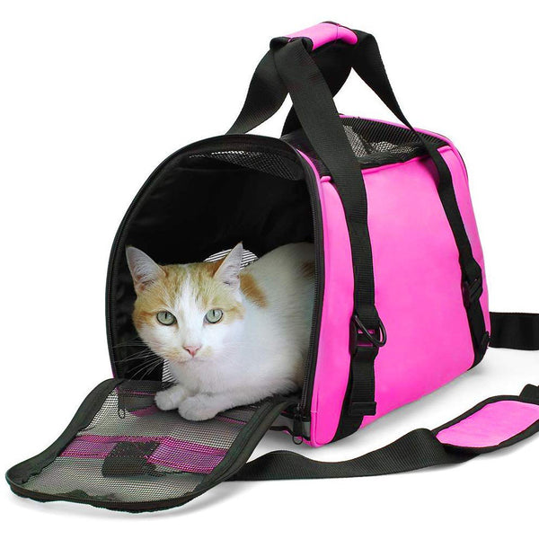 Pet Travel Carrier for Cats,Dogs Puppy,Comfort Portable Foldable