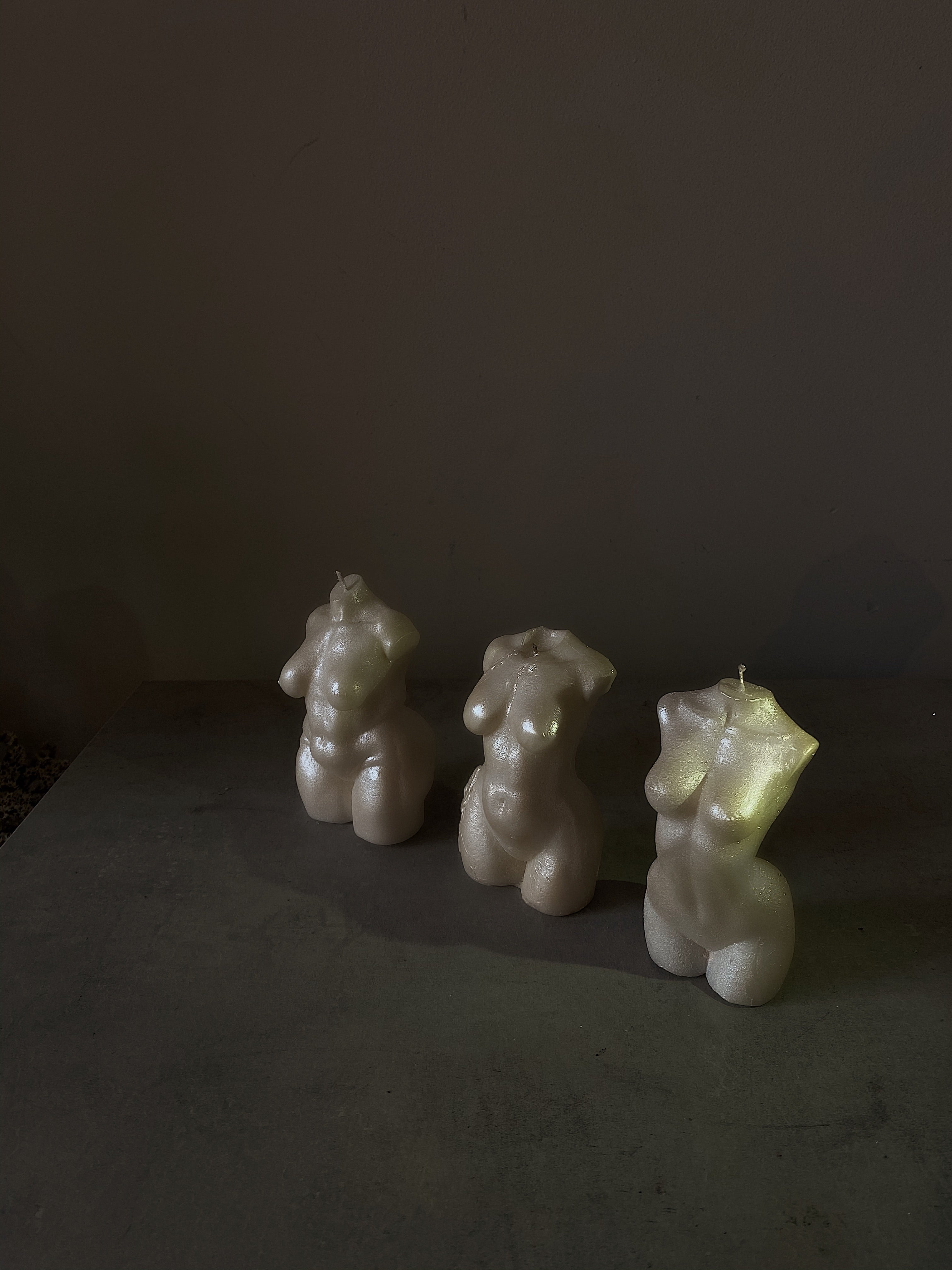 Pearl Torso Candle Collection