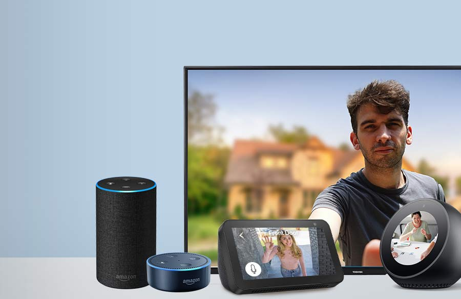 Netvue cameras and doorbells are compatible with Amazon Alexa
