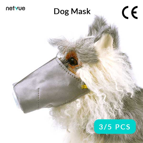 Dog/Pet Protective Mask S/M/L (Free Duty & Shipping)