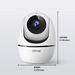 Netvue 1080P Indoor Security Camera-Orb Mini (Black + White) - netvue