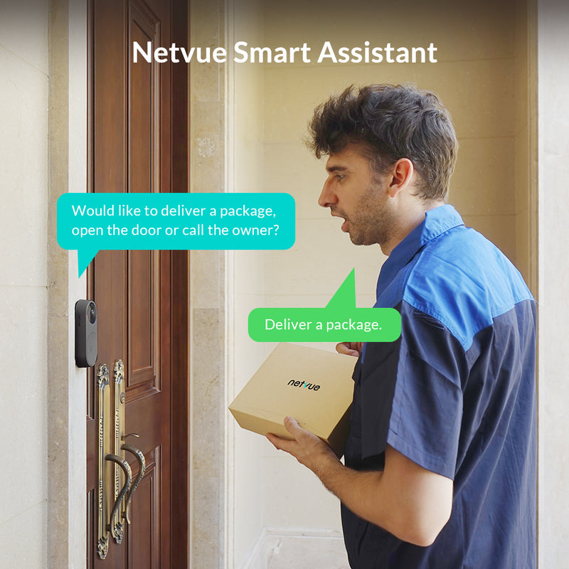 Netvue Belle A.I. Video Doorbell (Canada)