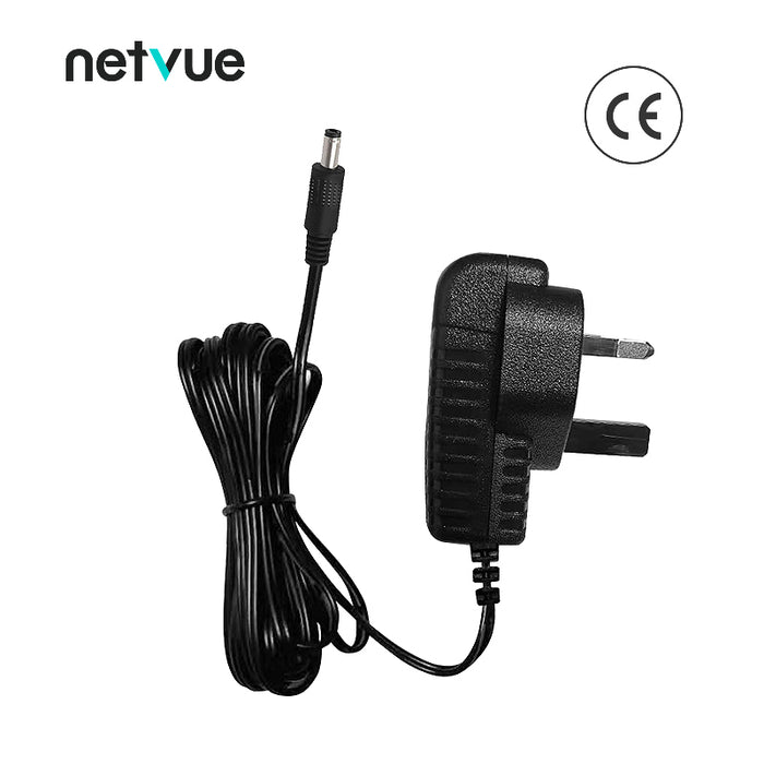 Netvue Outdoor Cam Power Cord 10FT 5.5mm*2.1mm | Suitable on Sentry & Vigil - netvue