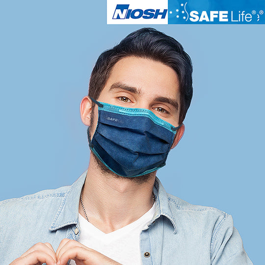SAFE Life N95 Protective Respirator NIOSH Approved Surgical Masks 10/20/50 PCS