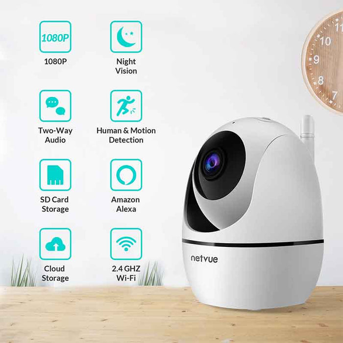 Netvue Indoor & Outdoor Camera Bundles - netvue