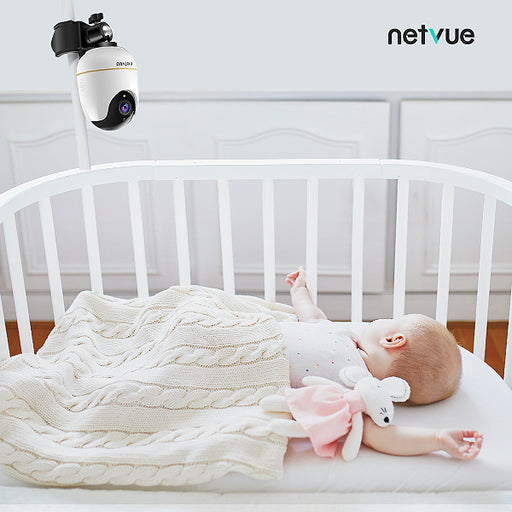 Multifunctional U Shaped Baby Camera Mount Bracket for Netvue Orb Cam & Orb Mini (camera not included) - netvue
