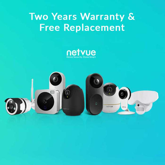 Guarantee of Free Replacement (cameras/doorbells) - netvue