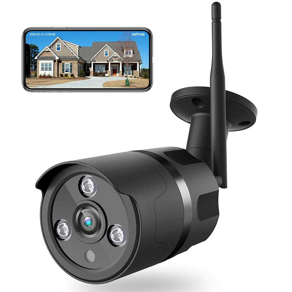 Netvue Vigil Cam | 1080P Outdoor Security Camera - netvue