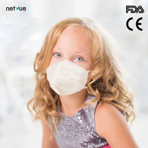 10-Pack Netvue Disposable KN95 Protective Face Masks for Kids