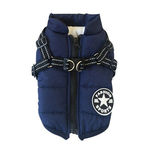 Harness Coat Winter - Barksworld.com