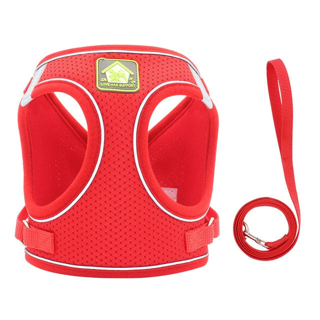 Dog Harness Breathable Mesh Vest - Barksworld.com