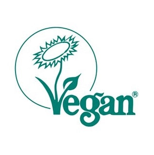 registered with the vegan society – logo