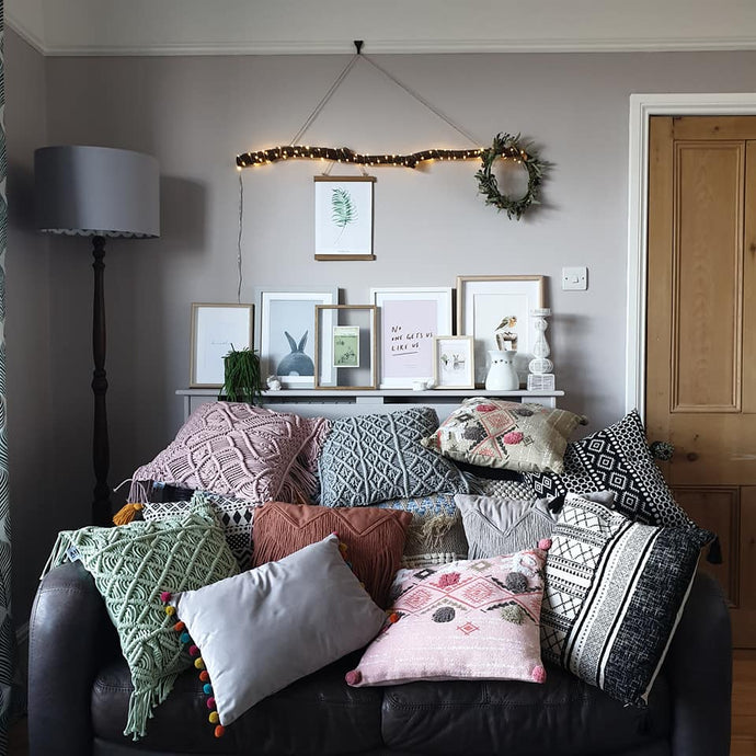 Five Ways to Style... Cushions