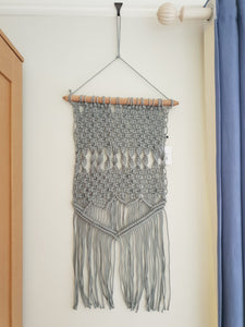 Liv Interior Macrame Hanging Grey