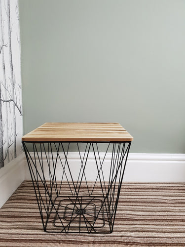 Square Wire Side Table