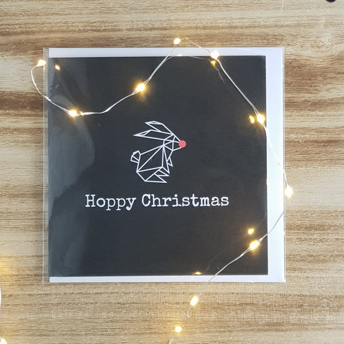 Pack of 4 Hoppy Christmas Cards