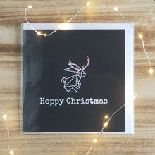 Load image into Gallery viewer, Hoppy Christmas Card - Reindeer