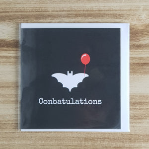 Punderful Congratulations Card - Bat