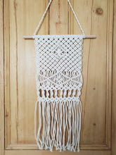 Load image into Gallery viewer, Cotton Macrame Hanging Design One
